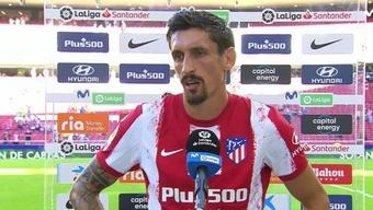 Savic defendió a Joao Félix. Captura/MovistarLaLiga