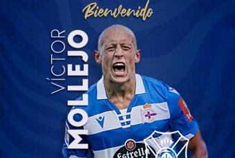 Víctor Mollejo jugará esta temporada en el Tenerife. Captura/CDTOficial