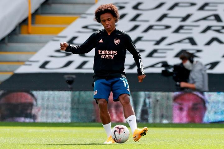 Willian pourrait retourner au Brésil. afp