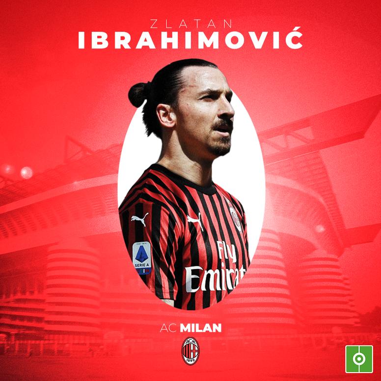Zlatan est de retour à Milan !
