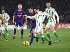 El partido entre el Betis y el Barcelona se jugará el 17 de marzo. BeSoccer