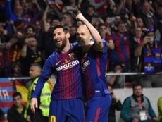 Iniesta rasgou elogios a Leo Messi. BeSoccer