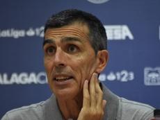El técnico asturiano habló tras el punto cosechado en Córdoba. BeSoccer