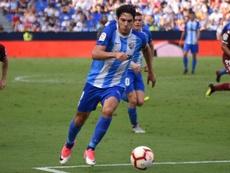 Blanco Leschuk le hizo dos goles al Numancia la primera vuelta. BeSoccer