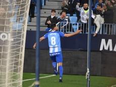Juankar y Adrián se despidieron del Málaga dando gracias. BeSoccer