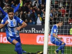 Adrián afirma que renovó porque el Málaga le llena más que otras cosas. BeSoccer