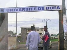 Escándalo en Camerún. Twitter/UniversidaddeBuea