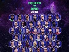 50 nombres para once puestos. UEFA