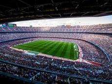 There was an excellent crowd at the Camp Nou on Saturday. FCBarcelona