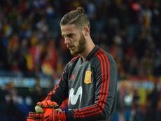 El guardameta del United vuelve a ganar puntos para jugar la Eurocopa. BeSoccer