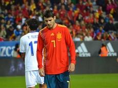 Los dorsales de España ante Malta: Morata recupera el '7'. BeSoccer