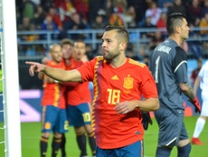 Jordi Alba had not been included of late. BeSoccer