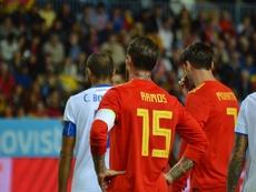 Ramos lidera a la Selección Española. BeSoccer