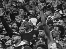 A fiel torcida do Corinthians. Twitter @Corinthians