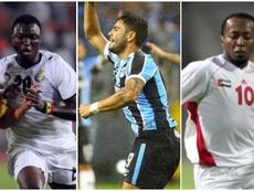 Adiyiah, Henrique Almeida e Ismail Matar foram Bolas de Ouro Sub. AFP/BeSoccer