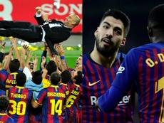 El Barcelona ha cambiado mucho. AFP