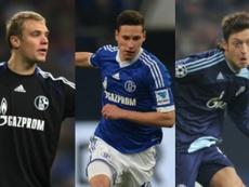 Neuer, Draxler et Ozil. AFP