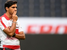Braga empatou a dois na receção ao Zorya Luhansk. Twitter/SCBraga
