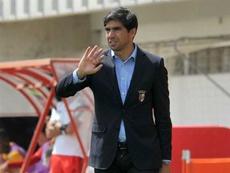 O novo técnico do Sp. Braga teve uma 'estreia' infeliz este domingo. Twitter
