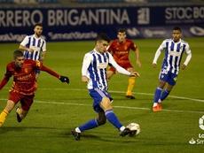 La Ponferradina derrotó al Zaragoza. LaLiga