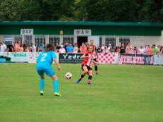 El Athletic Femenino logró tumbar a Osasuna. AthleticClub