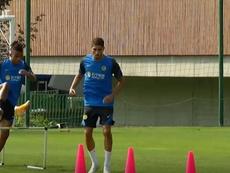 VÍDEO: Achraf y Kolarov trabajan a fondo con el Inter. DUGOUT