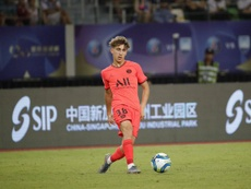 Aouchiche leaves PSG. PSG_English