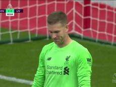 Adrian, da eroe del Liverpool all'errore della settimana. DAZN
