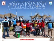 Deportes Iquique ayudó a seguidores del América varados en Chile. AmericadeCali