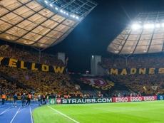 El Dynamo Dresden protestó haciendo historia en la DFB Pokal. DynamoDresden