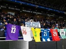 La afición del Espanyol hizo un homenaje especial. Instagram