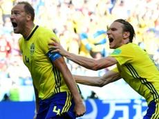 Granqvist continuera avec la Suède. AFP