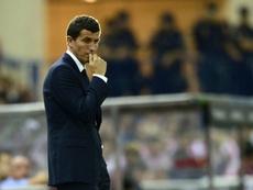 Javi Gracia renovará con el Watford. AFP
