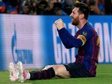 Messi turns 32 today. AFP