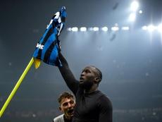 Lukaku llegó totalmente fuera de forma a Milán. AFP