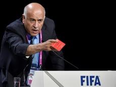 El presidente de la Federación Palestina de Fútbol, Yibril Rayub. AFP