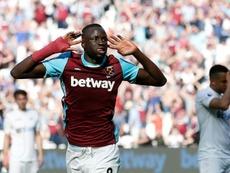 Kouyaté quitte West Ham et rejoint Crystal Palace. AFP