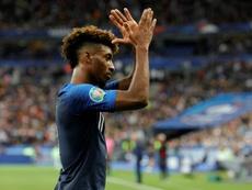 Kingsley Coman, plan B pour Manchester United. AFP