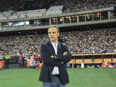 Lasarte, despedido un mes después de ganar la Liga Egipcia. AFP