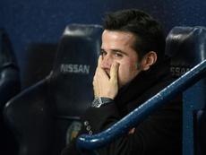 L'entraîneur commence déjà à donner vie à son projet. AFP