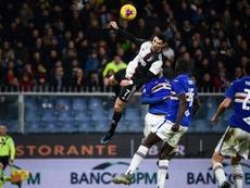 Le match Sampdoria-Hellas Verone lui aussi reporté. AFP
