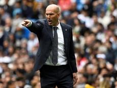 Zinédine Zidane a reconnu son impuissance. AFP