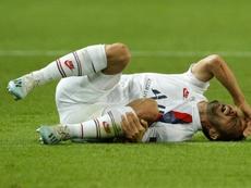 Encore des blessés au PSG avant le dernier match en C1. afp