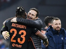 Lampard's decision to bring on Batshuayi was spot on. AFP