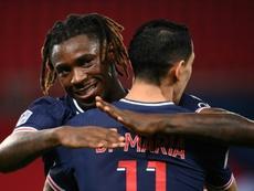 Le formazioni ufficiali di Monaco-PSG. AFP