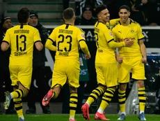 Dortmund reprend l'entraînement ce lundi. AFP