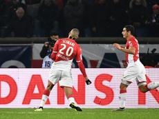 Slimani é uma das sensações do Mônaco. AFP