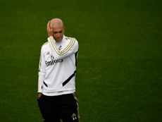 Les explications de Zidane. EFE
