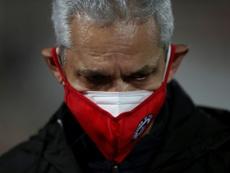 Reinaldo Rueda se mostró muy agradecido con el fútbol chileno. AFP/Archivo