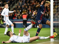 Choupo-Moting falló uno de los goles más claros de la historia. AFP